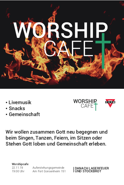 Flyer Worshipcafe Nahrbar